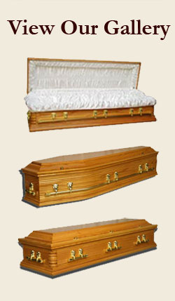 Coffin - Casket - Ireland- Irish - Hand Crafted - Made in Ireland - Irish Oak - Wood - Traditional